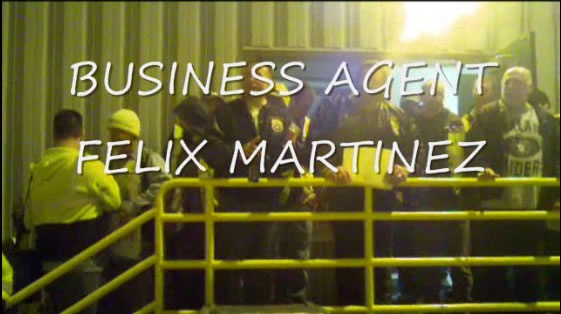 Business Agent Felix Martinez