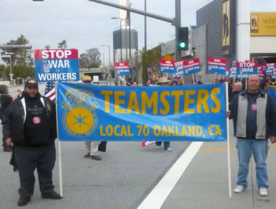 10,000 Teamsters March in Los Angeles For Worker Rights