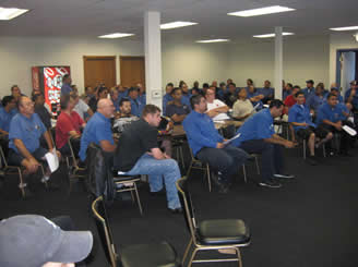 Pepsi Ratification Meeting