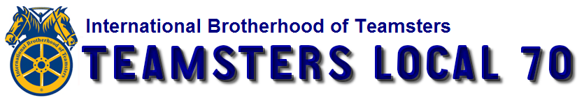 International Brotherhood of Teamsters Local 70